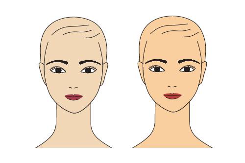Illustration art applying correct lipstick
